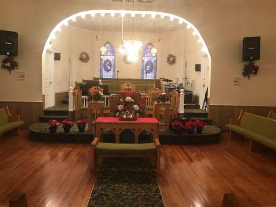New Hope altar